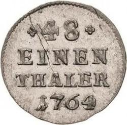 Munt > 1/48thaler, 1764-1806 - Saksen  - reverse