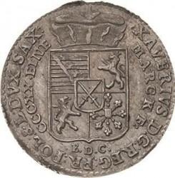 Moneta > 1/24tallero, 1764-1768 - Sassonia  - obverse