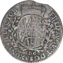 Moneta > 1/24tallero, 1764-1806 - Sassonia  - obverse
