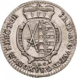 Moneda > 1/12thaler, 1763-1802 - Saxònia  - obverse
