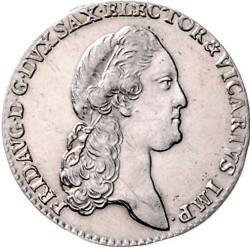 Moneta > 1/12tallero, 1790 - Sassonia  (Vicariato di Federico Augusto III) - obverse