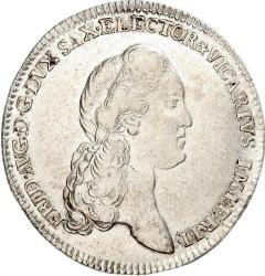 Moneta > ⅓tallero, 1790 - Sassonia  (Vicariato di Federico Augusto III) - obverse