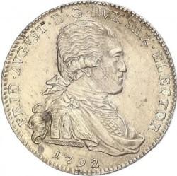 Moneta > ⅓tallero, 1792 - Sassonia  (Vicariato di Federico Augusto III) - obverse