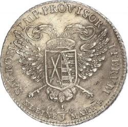 Moneta > ⅓tallero, 1792 - Sassonia  (Vicariato di Federico Augusto III) - reverse