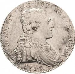 Moneta > ⅔tallero, 1792 - Sassonia  (Vicariato di Federico Augusto III) - obverse