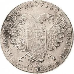 Moneta > ⅔tallero, 1792 - Sassonia  (Vicariato di Federico Augusto III) - reverse
