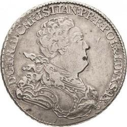 Moneta > ⅔tallero, 1763 - Sassonia  - obverse
