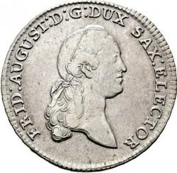 Moneta > ⅔tallero, 1769-1788 - Sassonia  - obverse