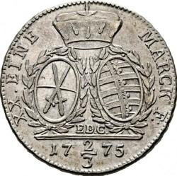 Moneta > ⅔tallero, 1769-1788 - Sassonia  - reverse