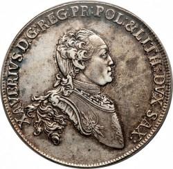 Moneta > 1tallero, 1764-1768 - Sassonia  - obverse