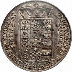 Moneta > 1tallero, 1764-1768 - Sassonia  - reverse