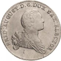 錢幣 > 1塔勒, 1765-1768 - Saxony  - obverse