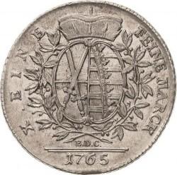 錢幣 > 1塔勒, 1765-1768 - Saxony  - reverse