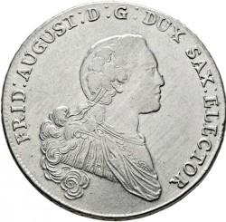 Moneda > 1thaler, 1765-1768 - Saxònia  - obverse