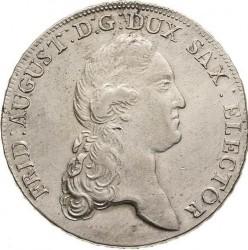 "Moneta > 1tallero, 1769-1790 - Sassonia  (Lettering: ""DER SEEGEN DES BERGBAUS"" sul rovescio) - obverse"