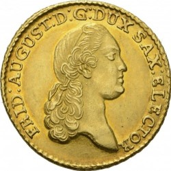 Moneda > 5taler, 1777-1785 - Sajonia  - obverse
