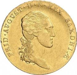 Moeda > 10Táler, 1806-1817 - Saxônia  - obverse