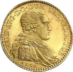 Moneta > 1ducato, 1792 - Sassonia  (Vicariato di Federico Augusto III) - obverse
