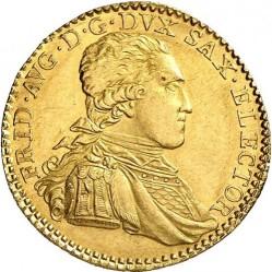 Moneta > 1ducato, 1791-1804 - Sassonia  - obverse