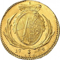 Moneta > 1ducato, 1791-1804 - Sassonia  - reverse