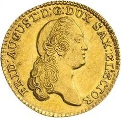 Moneda > 1ducat, 1769-1778 - Saxònia  - obverse