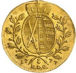 Moneda > 1ducat, 1769-1778 - Saxònia  - reverse
