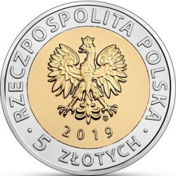 Moneda > 5 zlotych, 2019 - Polonia  (Discover Poland – Monuments of Frombork) - obverse