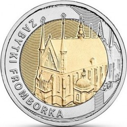 Moneda > 5 zlotych, 2019 - Polonia  (Discover Poland – Monuments of Frombork) - reverse