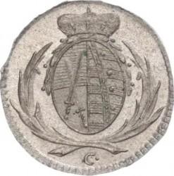 Moneta > 3pfennig, 1764-1793 - Sassonia  - obverse