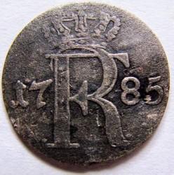 מטבע > 1/24טלר, 1785 - פרוסיה  - obverse