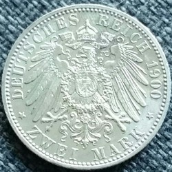 Moneda > 2mark, 1891-1912 - Imperi Alemany  - reverse