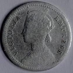 Pièce > ¼roupies, 1877-1901 - Inde - Britannique  - obverse