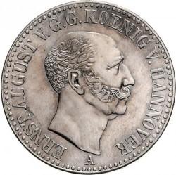 錢幣 > 1塔勒, 1842-1849 - Hannover  - obverse