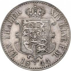 錢幣 > 1塔勒, 1842-1849 - Hannover  - reverse
