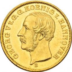 Moneda > 5taler, 1853-1856 - Hannover  - obverse