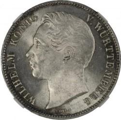 Кованица > ½гулдена, 1838-1858 - Virtemberg  - obverse