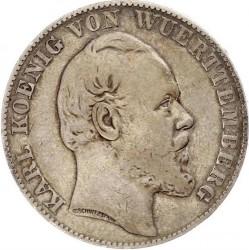 Кованица > 1вереиншталер, 1865-1867 - Virtemberg  - obverse