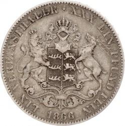 Кованица > 1вереиншталер, 1865-1867 - Virtemberg  - reverse