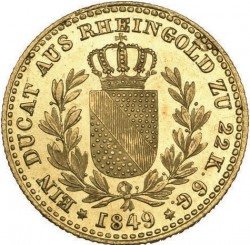 Moneda > 1ducado, 1847-1852 - Baden  - reverse
