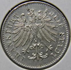 Moneta > 3krajcary, 1846-1856 - Frankfurt   - obverse