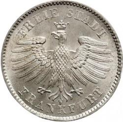 سکه > 6کرویزر, 1838-1846 - فرانکفورت  - obverse