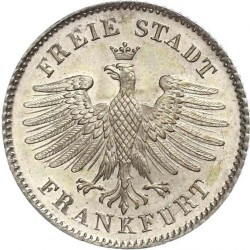Νόμισμα > 6Κρέουζερ, 1838-1846 - Frankfurt  - obverse
