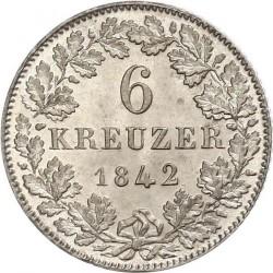 Νόμισμα > 6Κρέουζερ, 1838-1846 - Frankfurt  - reverse