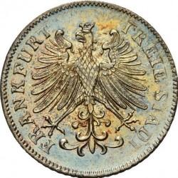 Moneda > 6kreuzer, 1846-1856 - Frankfurt  - obverse