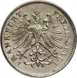 Moeda > 6kreuzer, 1846-1856 - Frankfurt  - obverse
