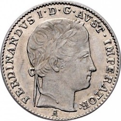 Монета > 3кройцера, 1835-1836 - Австрия  - obverse