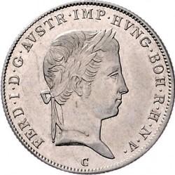 Монета > 10кройцера, 1837-1848 - Австрия  - obverse