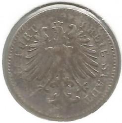 Νόμισμα > 3Κρέουζερ, 1846-1856 - Frankfurt  - obverse