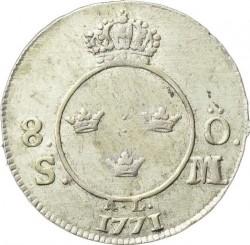 Minca > 8öreSM, 1771 - Švédsko  - reverse