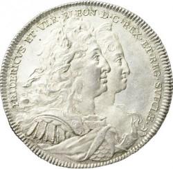 Moneda > 1riksdaler, 1731 - Suecia  (Fredrik I and Ulrika Eleonora on obverse) - obverse